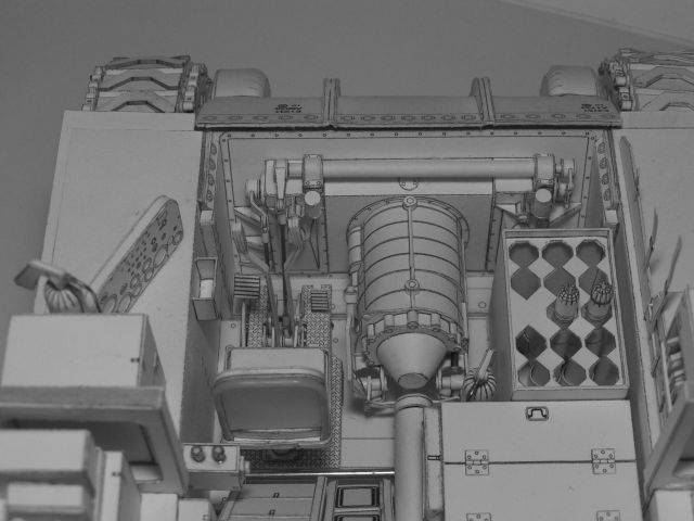 Wicked Detail in Polish Paper Models - Armchair General and